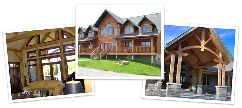 Log homes manufacturer