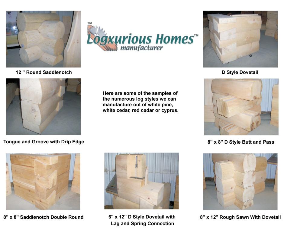 log styles
