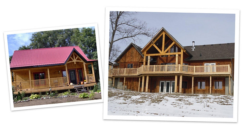 What Size Log Homes Do You Build?