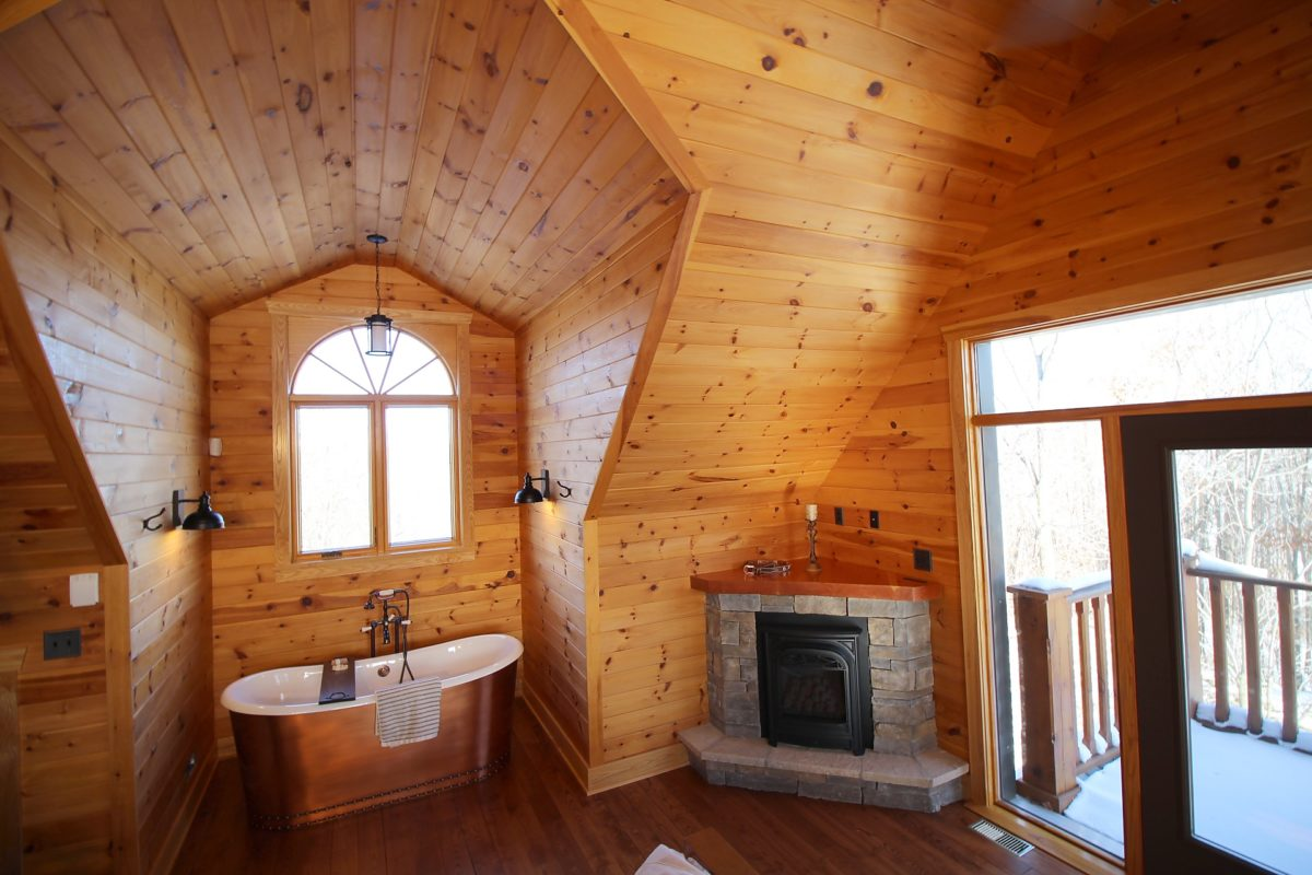 Silent Shade Log Home Gallery