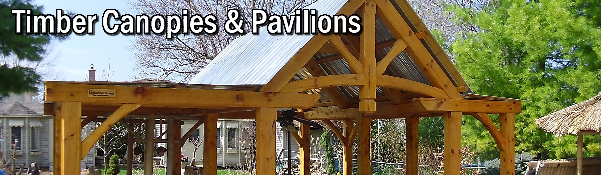 Timber Canopies and Pavilions